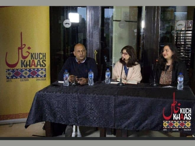 Launch of Defiance of the Rose at Kuch Khaas, Islamabad